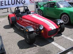 race car, automobile, lotus seven, vehicle, performance car, automotive design, caterham 7 csr, caterham 7, antique car, vintage car, land vehicle, sports car,
