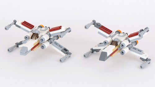 9677 X,Wing Starfighter and Yavin 4