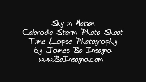 Colorado Lightning Time Lapse