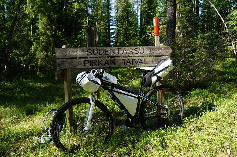 My ride on the Pirkan Taival Trail