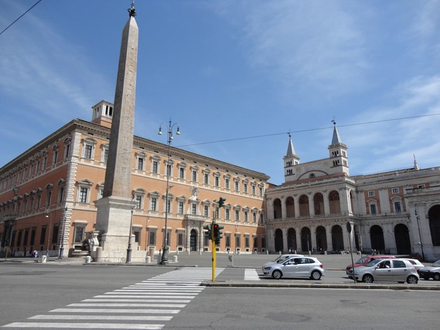 Near San Giovanni in Laterano