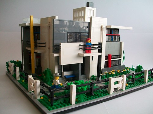 Brick town talk february 2013 lego town architecture building tips inspiration ideas and - Lego house interior ...