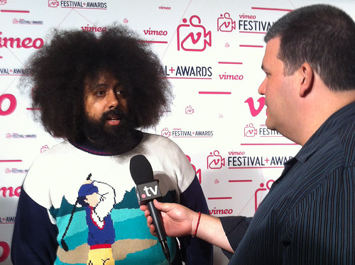 Reggie Watts being Interviewed by me