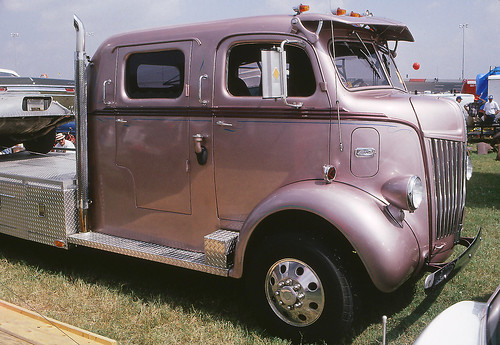 Ford cabover Hauler at the 1993 Charlotte Fall Autofair