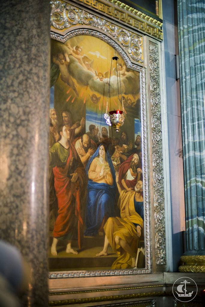 23 марта 2014, Первая Литургия митрополита Варсонофия в Казанском кафедральном соборе / 23 March 2014, First Liturgy of Metropolitan Barsanuphius at the Kazan Cathedral