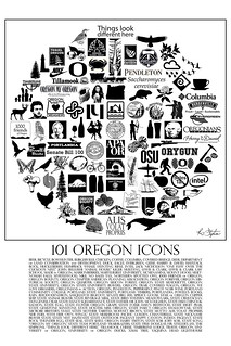 101 Oregon Icons