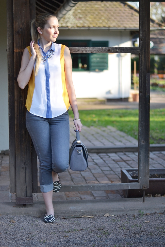 Outfit yellow and grey (1)