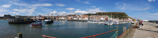 Scarborough Harbour Panorama