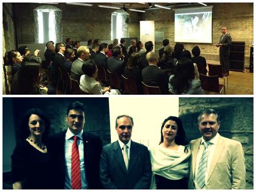 75 aniversario del exilio español en México, Embajada de México en Suiza