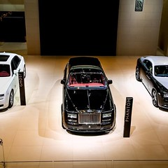 In the spotlight at the Beijing Motor Show 2014 - photo from rollsroycecars