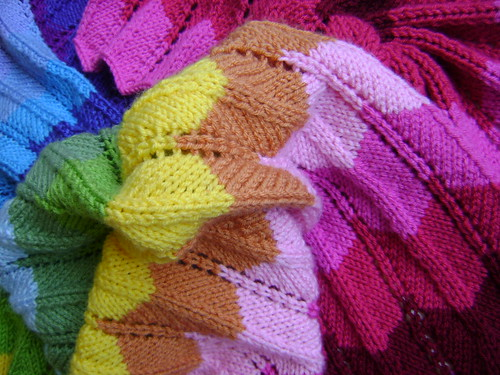 Knitting in Technicolor