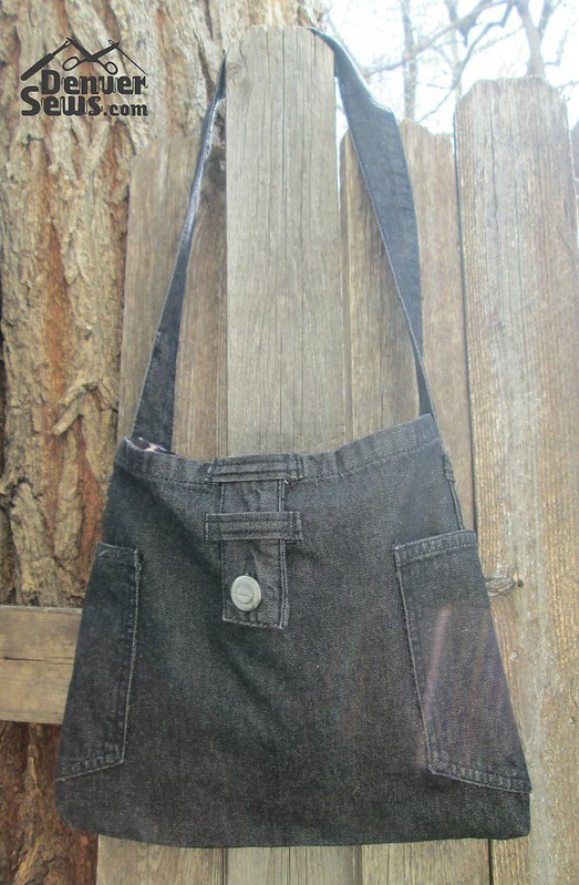 Jeans Purse Refashion watermarked