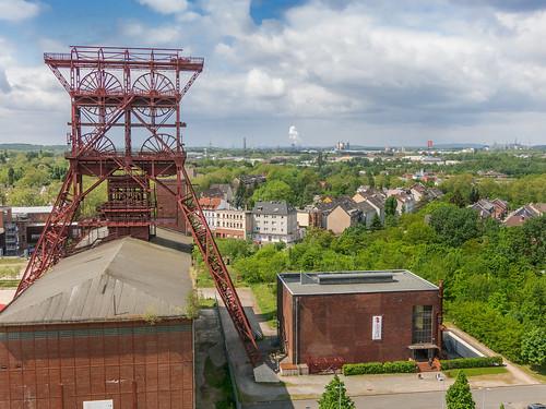 Förderturm Consolidation IX Gelsenkirchen