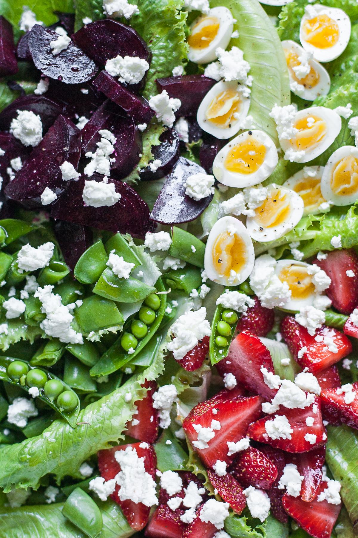 Spring Farmers Market Salad