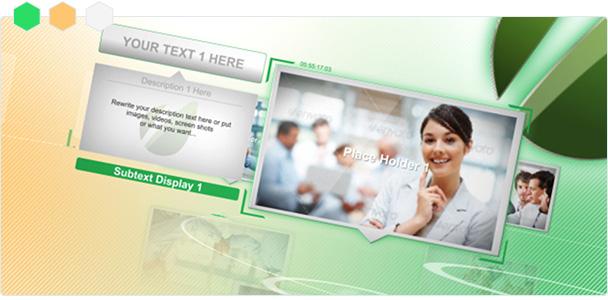 Custom-Color Smart Corporate Displays 1
