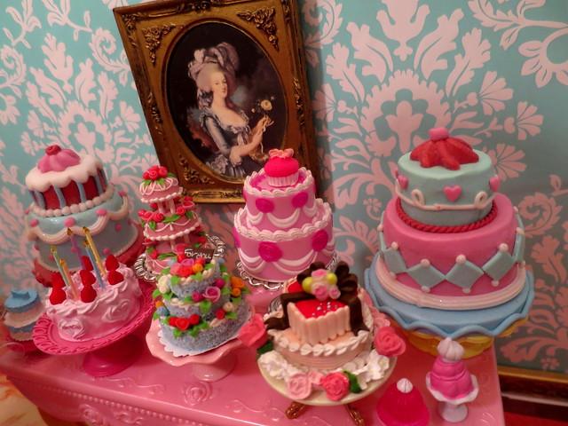 Let them eat cake.....