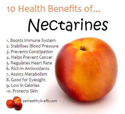 7. Nectarines