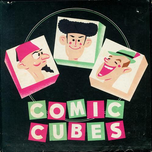 comic cubes boite