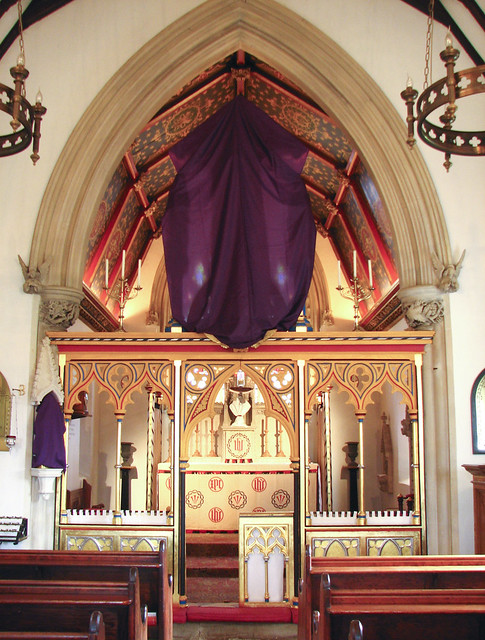Veiled for Passiontide