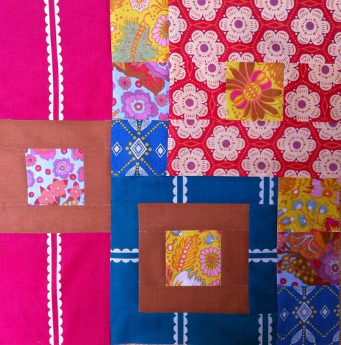 Voile block for Elizabeth