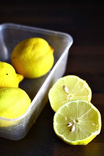 use lemons for home cleaning