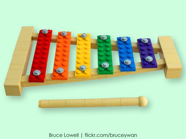 LEGO Xylophone