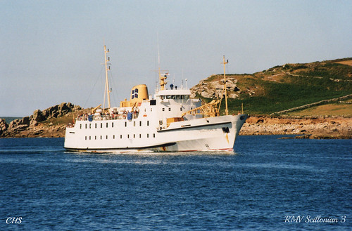 RMV Scillonian III.  35mm 1999 by Stocker Images
