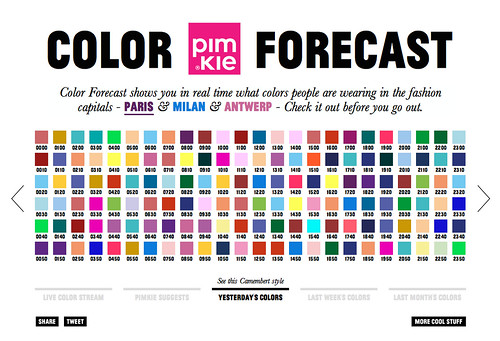 COLOR FORECAST 3