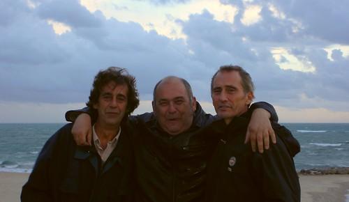 Tres amigos de la infancia