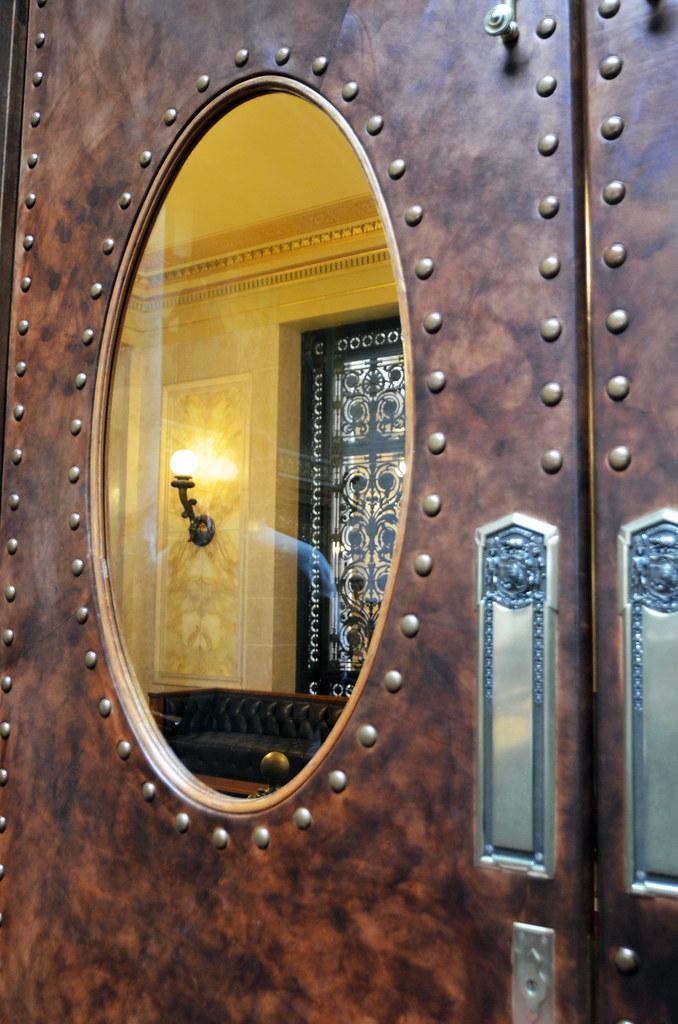 Leather Door