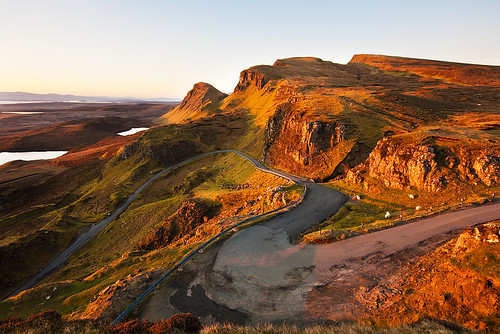Early light on the Quiraing.
