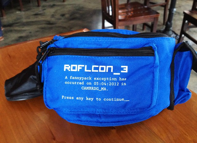 ROFLCon Fannypack!