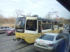 Tramway sur la route entre Vladykino et Sokol'niki
