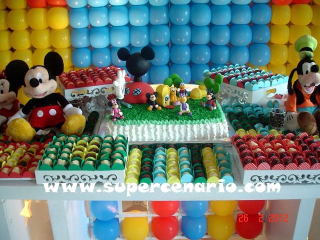 decoracao festa mickey : decoracao festa mickey:Decoracao De Festa Infantil Do Mickey