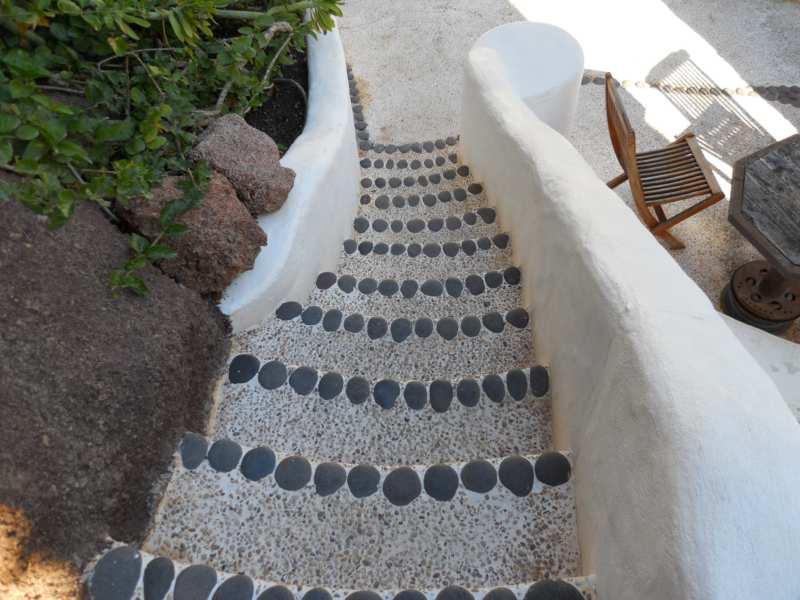 Escalera en jardines Omar Sharif Lanzarote 5