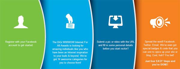 4 cara mudah mencalonkan blog di DiGi WWWOW Awards 2012