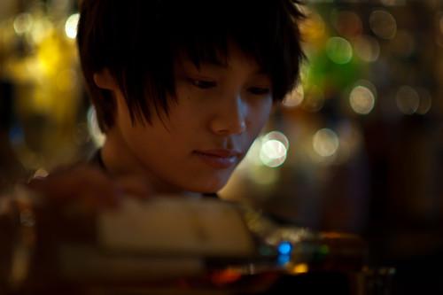 [フリー画像素材] 人物, 女性 - アジア, 中国人, 女性 - ショートヘア ID:201204041400