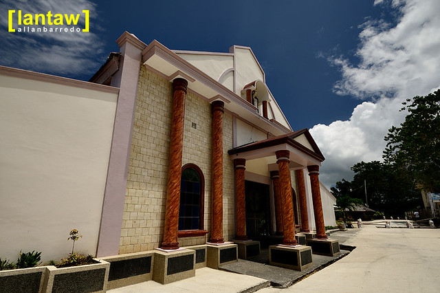 Larena Church Facade