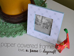 Paper Covered Frame DIY
