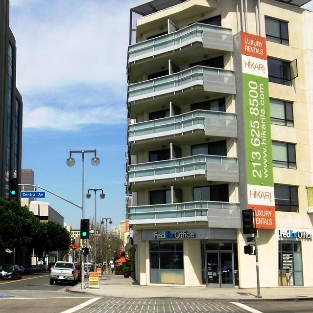 New Condos in Little Tokyo, Los Angeles, (c2015 by FK Benfield)