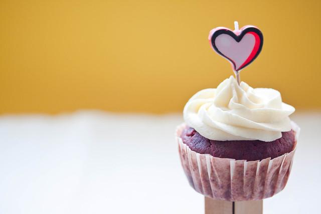 Healthy Red Velvet Cupcake