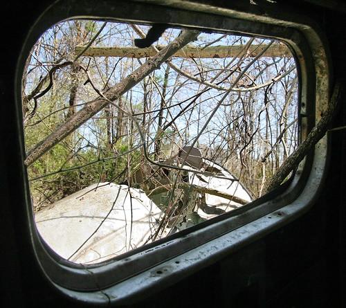 abandoned pine airport aircraft twin windowview 18 derelict beech scrapped stored twinbeech beechc45 beechexpeditor beechc45g n7615c 5111481