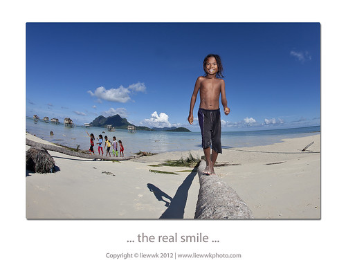 ... the real smile ...