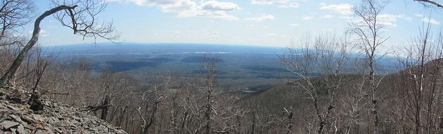 View of the Hudson Valley from Codfish Point