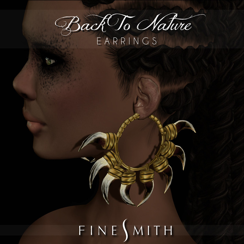 FINESMITH- BACK TO NATURE EARRINGS