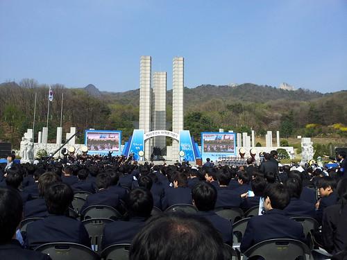 52주년 4.19혁명 기념식 참가