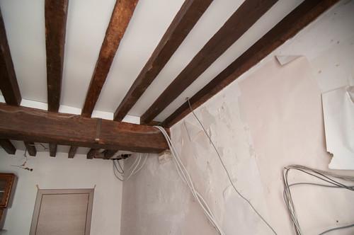 Plafond dat weg gaat