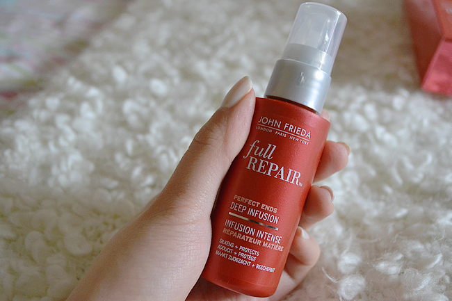 daisybutter - UK Style Blog: review, john frieda perfect ends deep infusion serum