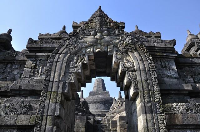 Templo de Borobudur, Java Central, Indonesia