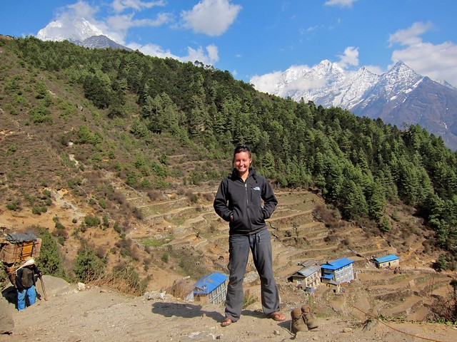 Birthday in Namche